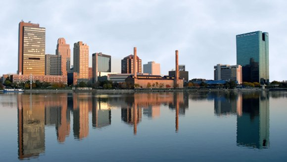 Toledo, Ohio Skyline - Toledo Websites