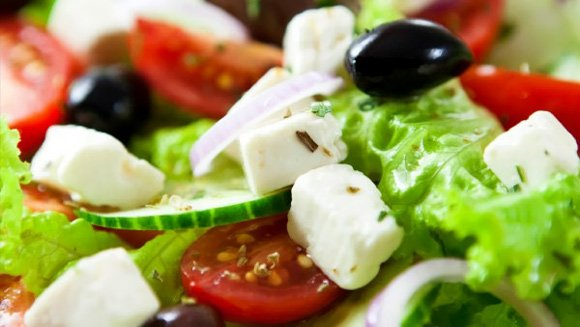 Uncle John's Greek Salad - Tasty and Healthy
