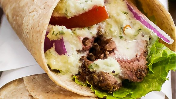 Gyro Meat Wraps at Uncle John's Pancake House
